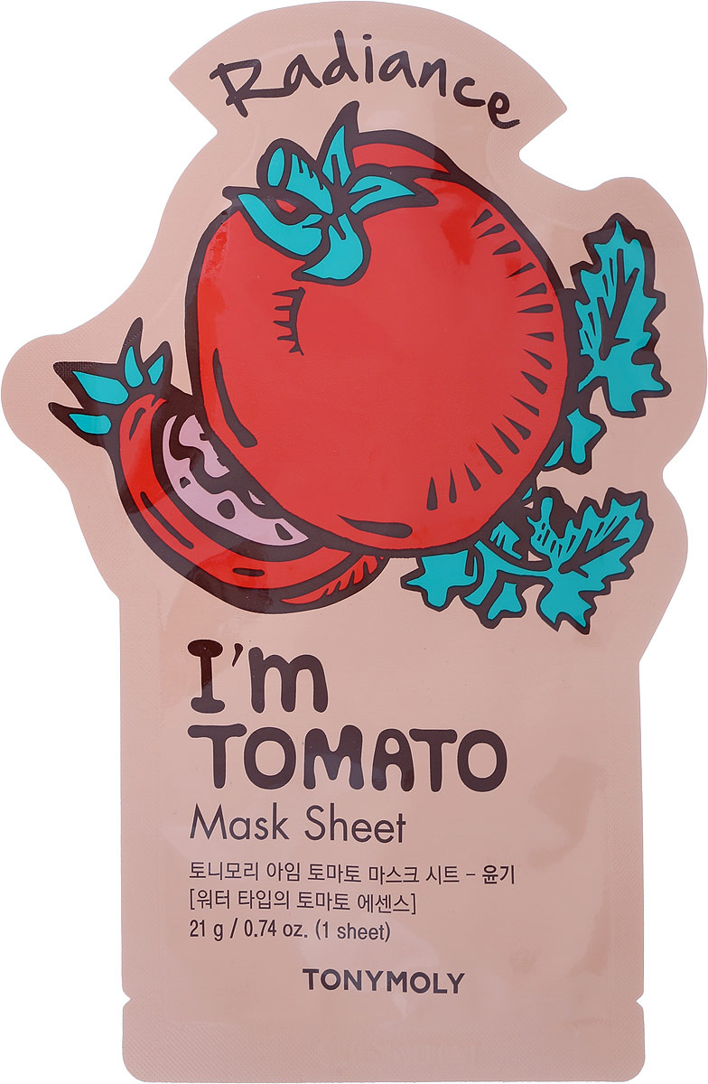 TonyMolyТканевая маска с экстрактом томата I'm Real Tomato Mask Sheet, 21мл  #1