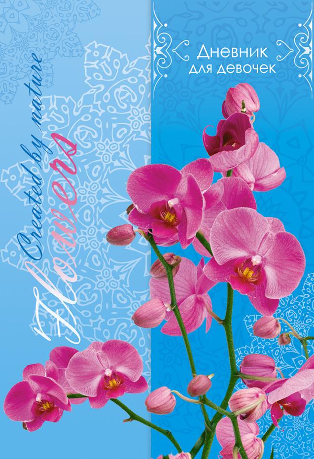 Апплика Дневник личный Орхидея 80 листов #1
