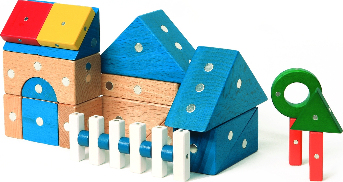 Genii Creation Конструктор деревянный Дом #1