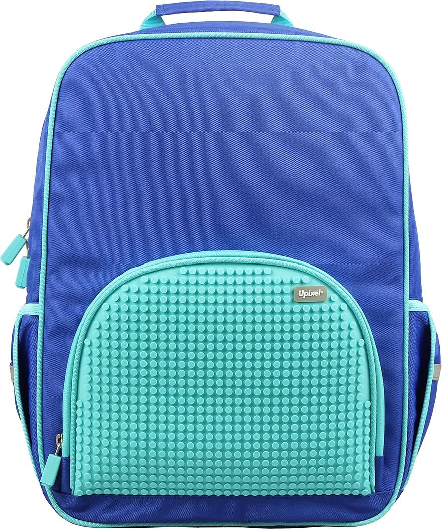 9ee72ab85c7e Upixel Школьный рюкзак в ярких красках цвет голубой — купить в ...