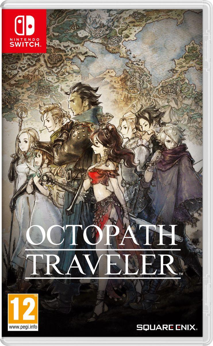 Игра Octopath Traveler (Nintendo Switch, Английская версия) #1
