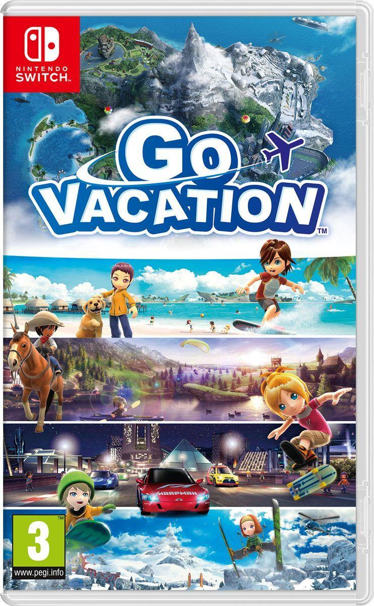 Игра Go Vacation (Nintendo Switch, Английская версия) #1