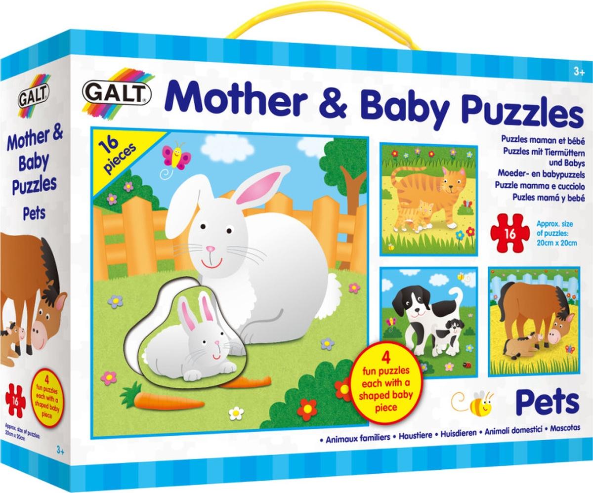 Galt Пазл Мама и малыш Домашние животные 1004858 #1