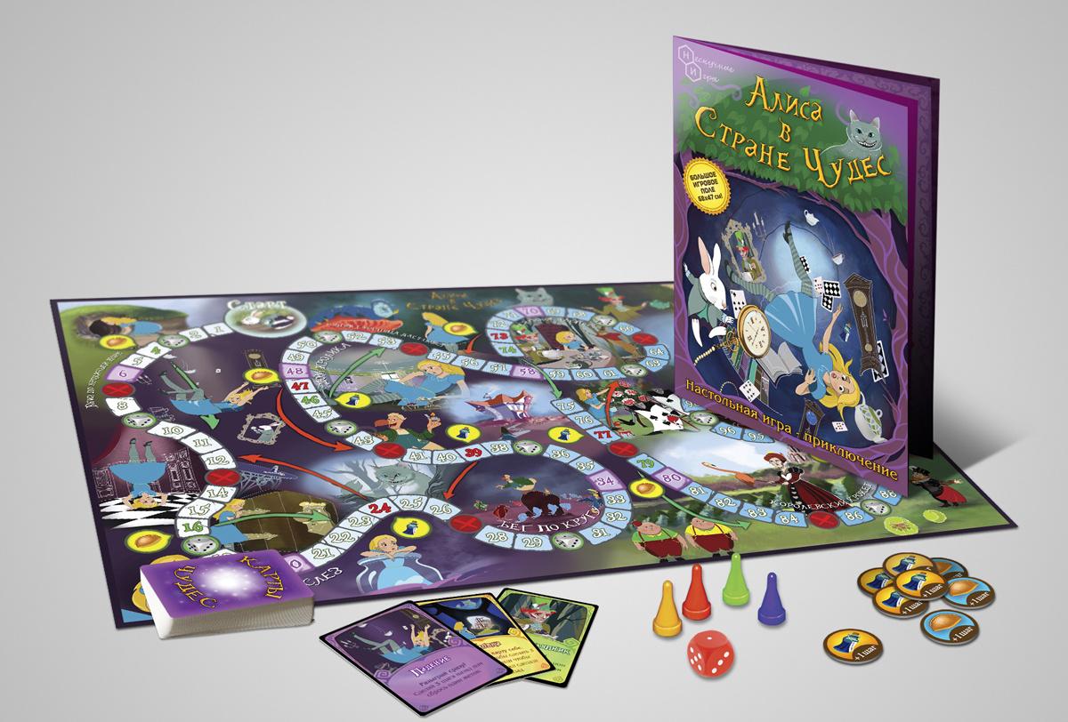 Нескучные игры Настольная игра Алиса в Стране чудес #1