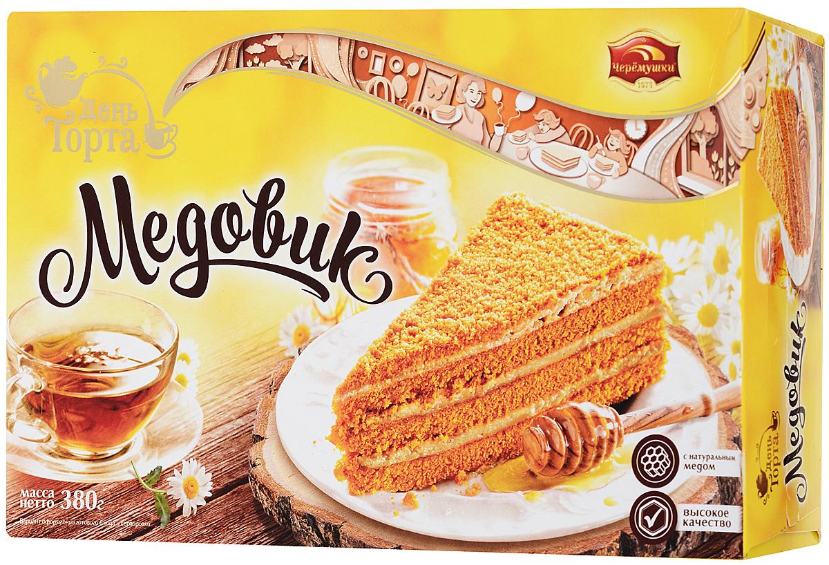 Торт Медовик День торта/ Черемушки, 380 г #1