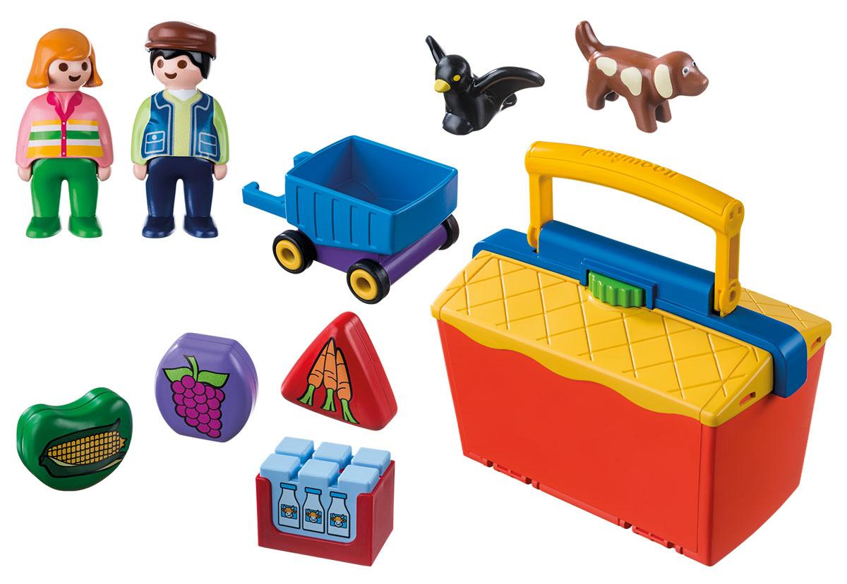 Playmobil Игровой набор На рынке #1