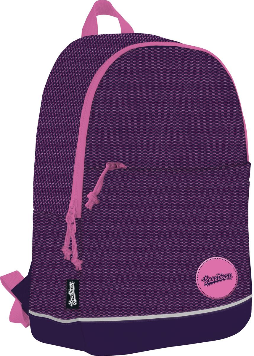 106bd09a8cd9 Seventeen Рюкзак детский цвет черный розовый SVFB-RT4-520 — купить в  интернет-магазине OZON.ru с быстрой доставкой