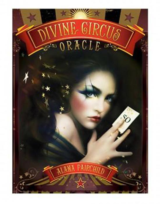 Карты Оракул Blue Angel Oracle cards Divine Circus #1