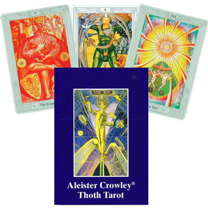 Карты Таро AGMuller Aleister Crowley THOTH Standard #1