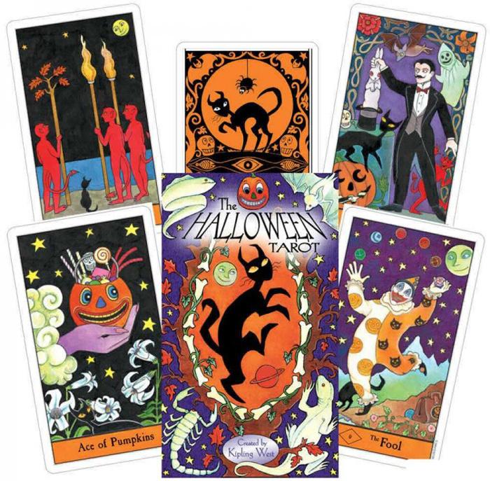 Карты Таро U.S. Games Systems Карты Halloween Tarot HA78 #1