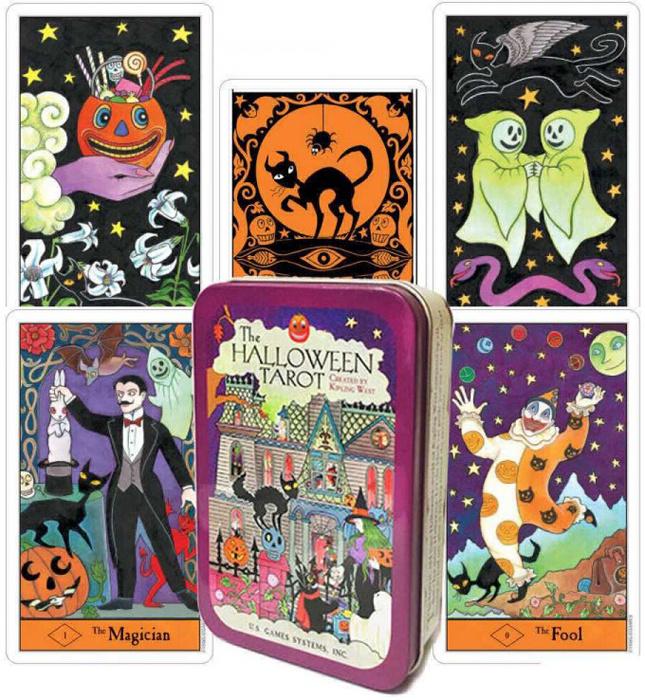 Карты Таро U.S. Games Systems Карты Halloween Tarot HAT78 #1