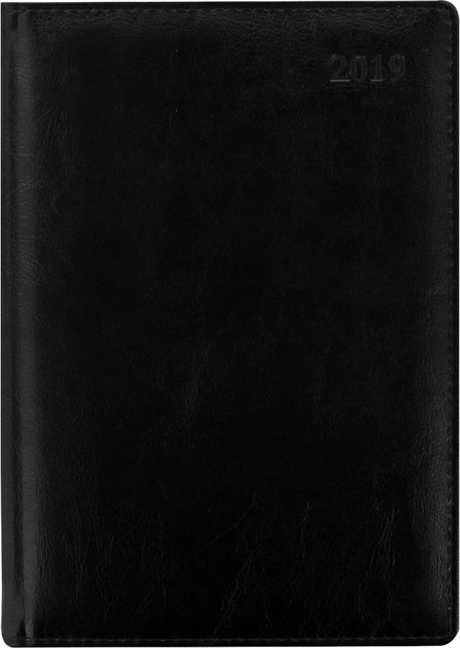 Еженедельник Letts Global Deluxe, датированный, цвет: черный, A4, 64 листа в линейку  #1