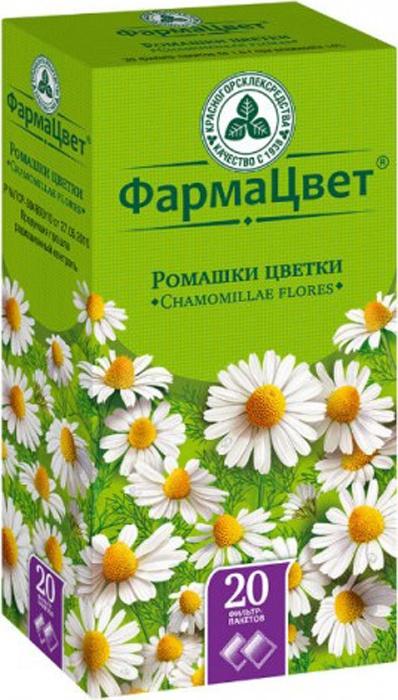 Ромашка цветки фильтр-пакеты 1,5г №20, Фармацвет #1