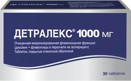 Детралекс таб. п/о плен. 1000 мг №30 #1