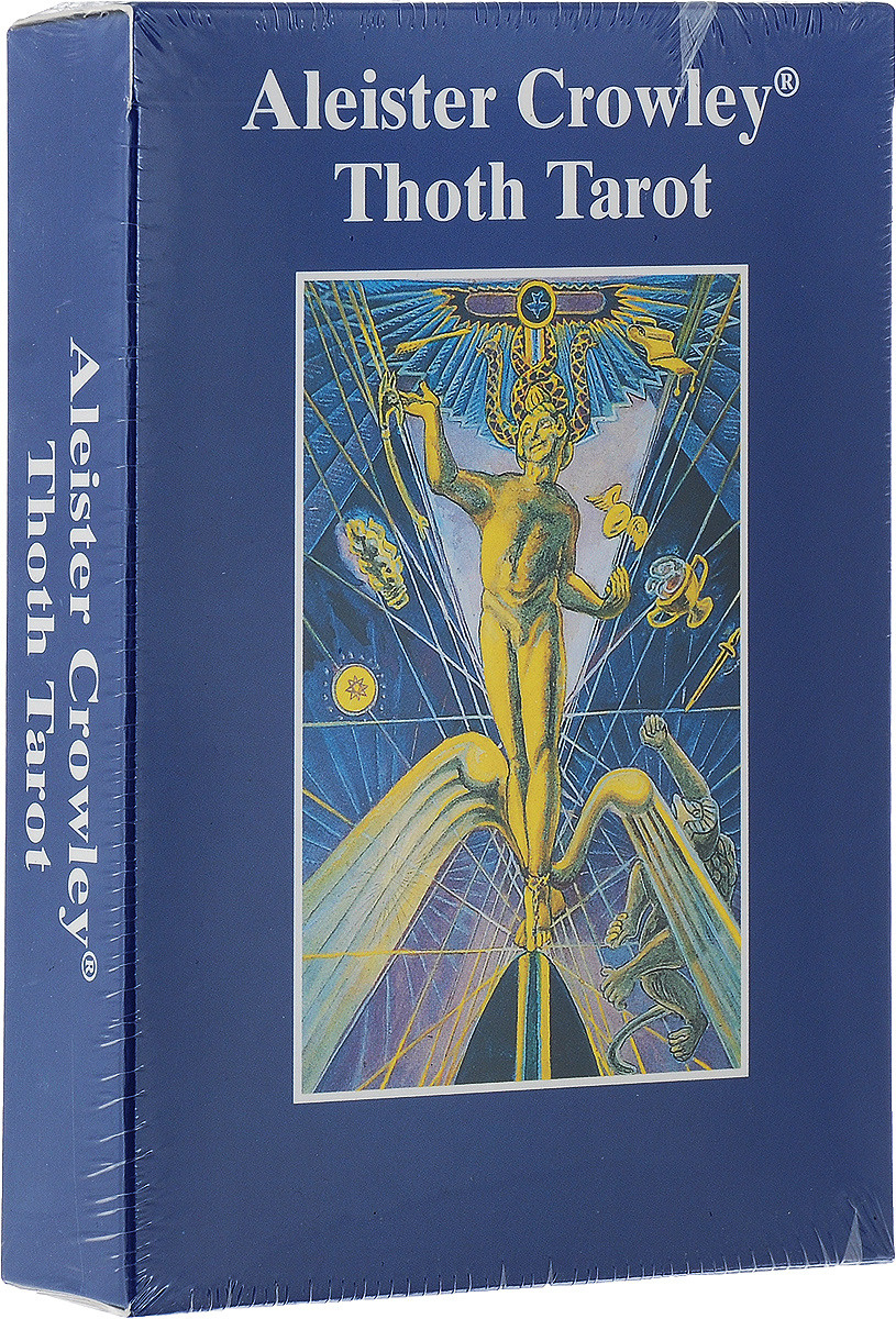 Карты Таро AGMuller Aleister Crowley Tarot - De Luxe #1