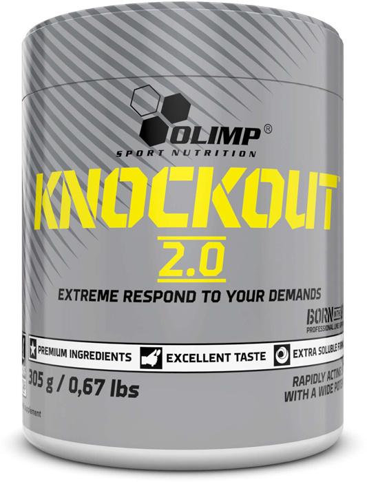 Предтренировочный комплекс Olimp Knockout 2.0, баббл гам, 305 г #1