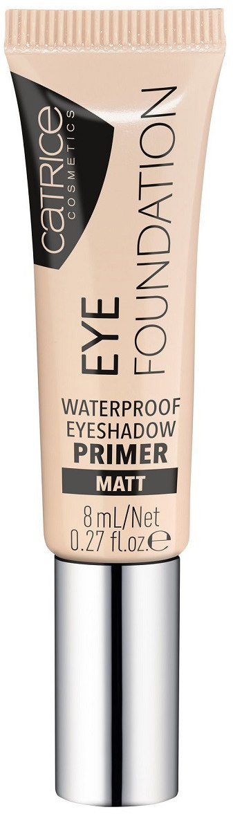 Праймер под тени для век Catrice Eye Foundation Waterproof Eyeshadow Primer, водостойкий, оттенок 010 #1