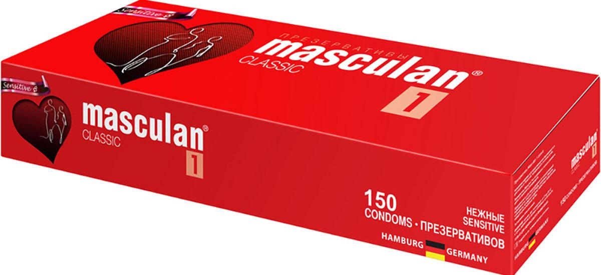 Masculan Презервативы 1 Classic №150, нежные #1