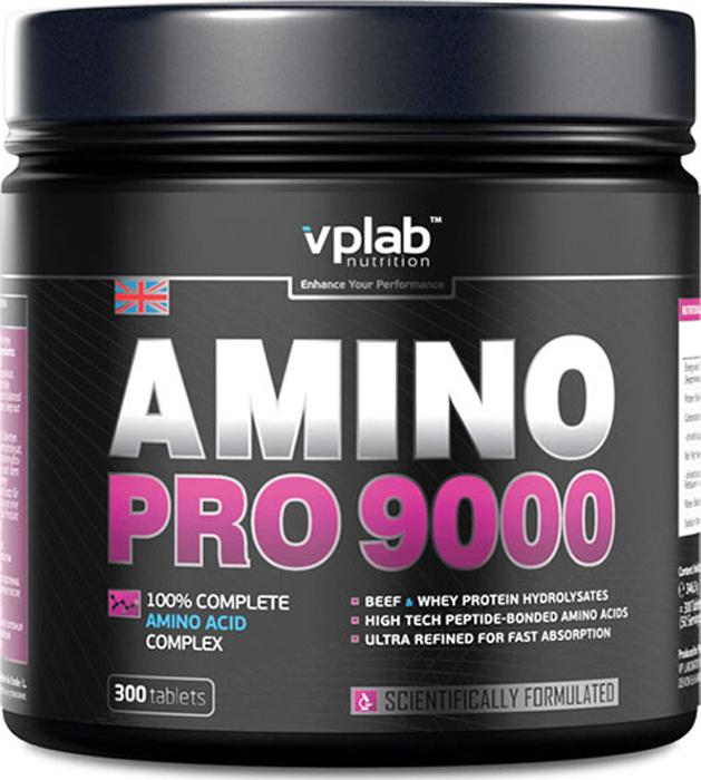 "Аминокислотный комплекс VPLab ""Amino Pro 9000"", 300 таблеток #1"