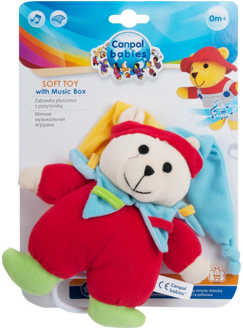 Canpol Babies Мягкая игрушка Мишка Клоун #1
