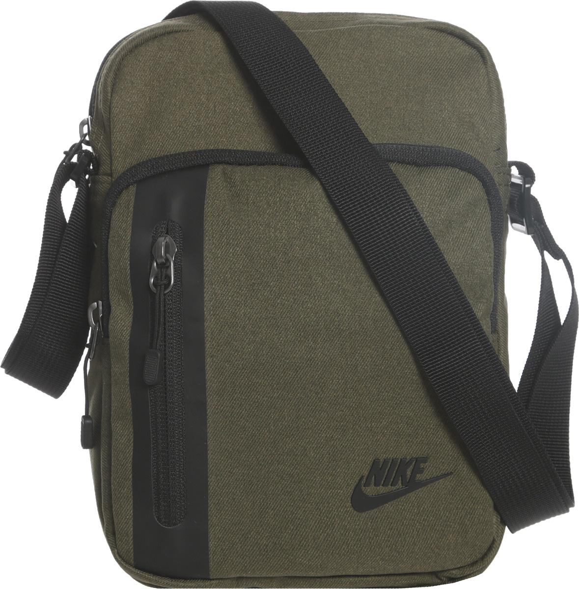 c91bb2d88916 Сумка Nike Core Small Items 3.0 Bag, цвет: хаки. BA5268-395 — купить в  интернет-магазине OZON.ru с быстрой доставкой