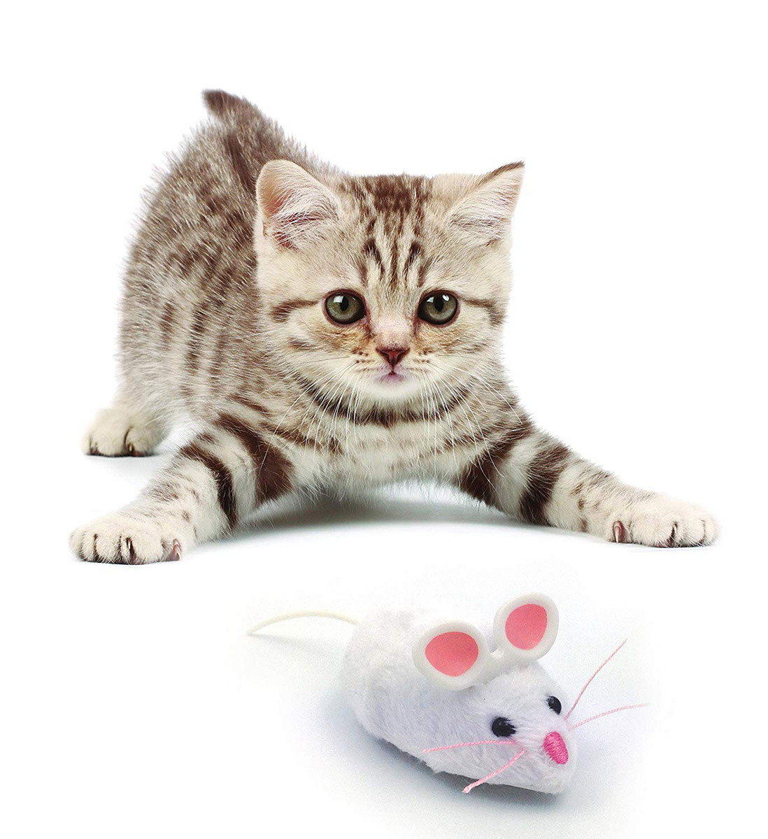 Игрушка для животных Hexbug Мышка интерактивная белая #1