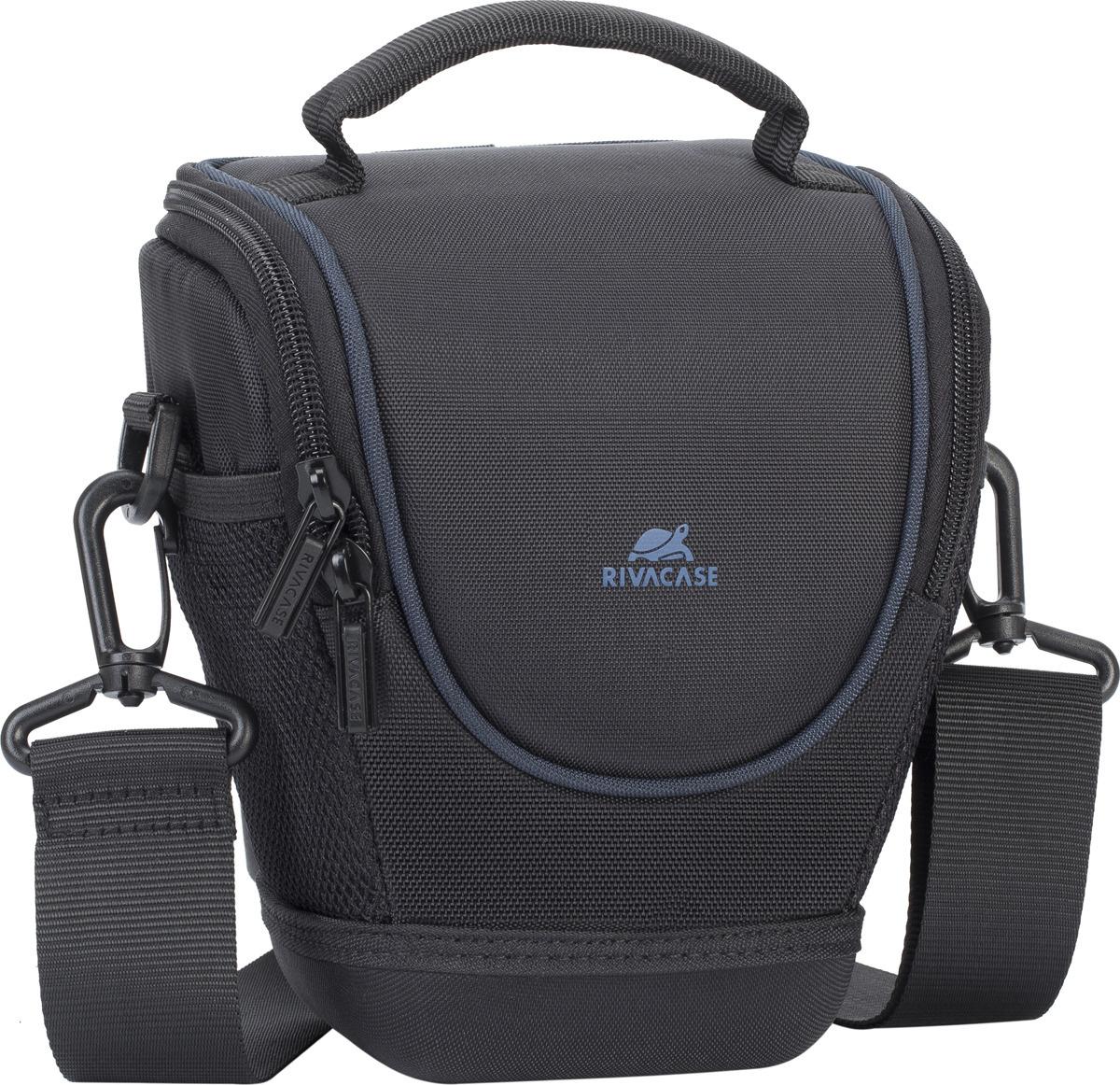 4f9fcc1a57ed Сумка для фотоаппарата RivaCase 7201 SLR Black — купить в интернет-магазине  OZON.ru с быстрой доставкой