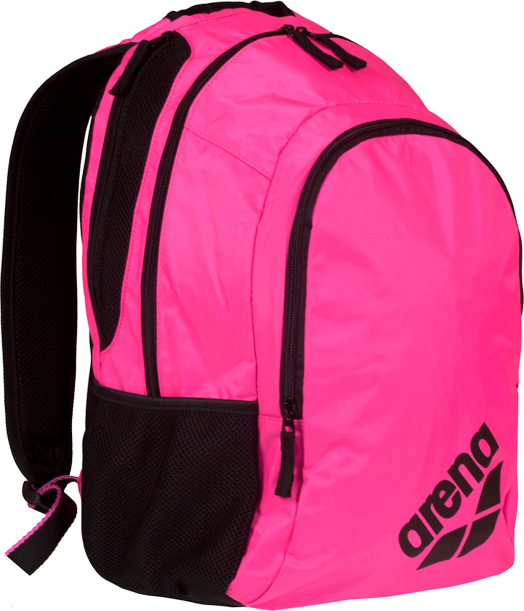 6b15d70697b6 Рюкзак спортивный Arena Spiky 2, цвет: розовый, черный, 30 л. 1E005 59 —  купить в интернет-магазине OZON.ru с быстрой доставкой