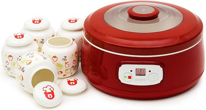 Йогуртница Oursson FE1502D/RD, Red #1