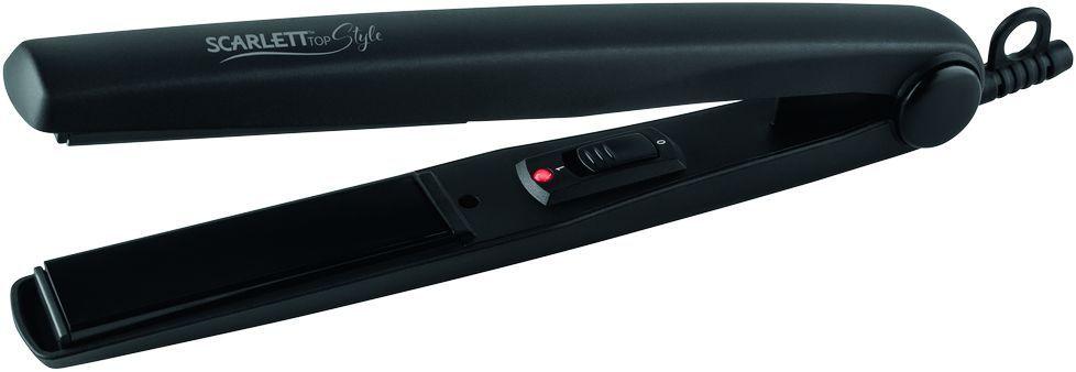 Щипцы Scarlett HSC- S60592, покрытие: керамическое, 30 Вт, цвет: черный  #1