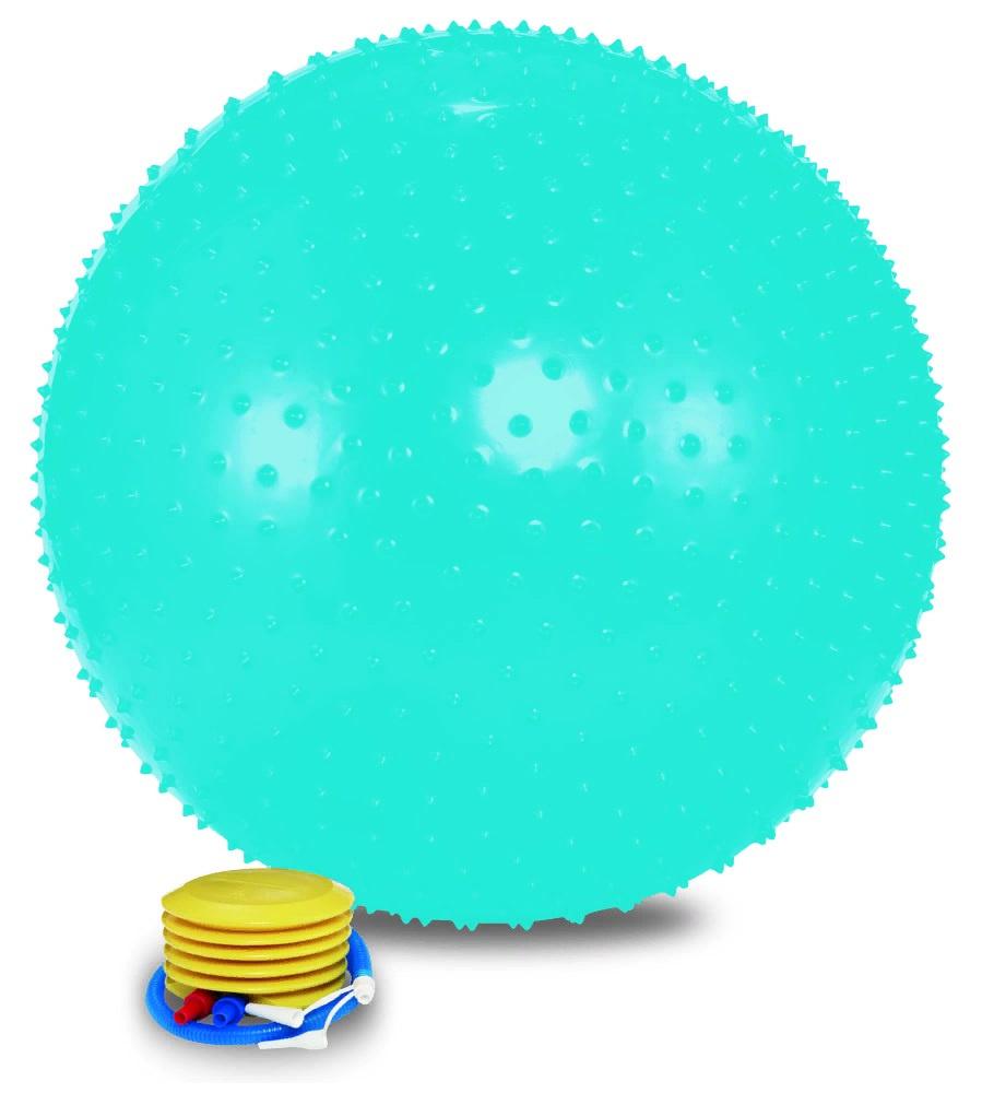 Мяч для фитнеса Lite Weights гимнастический, голубой #1