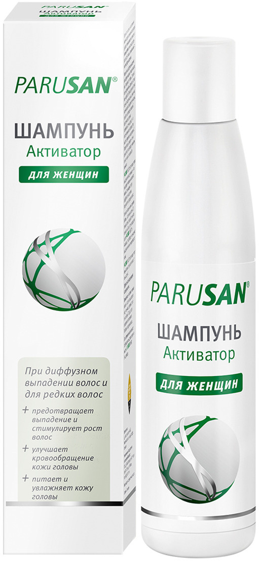 PARUSAN Шампунь Активатор,200 мл #1