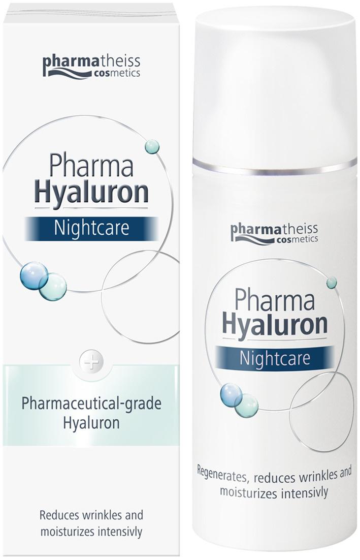 Pharma Hyaluron Ночной крем для лица , 50 мл. #1