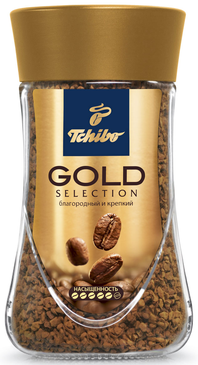 Tchibo Gold Selection кофе растворимый, 190 г #1