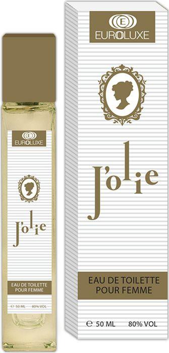 Euroluxe Jolie Туалетная вода 50 мл #1