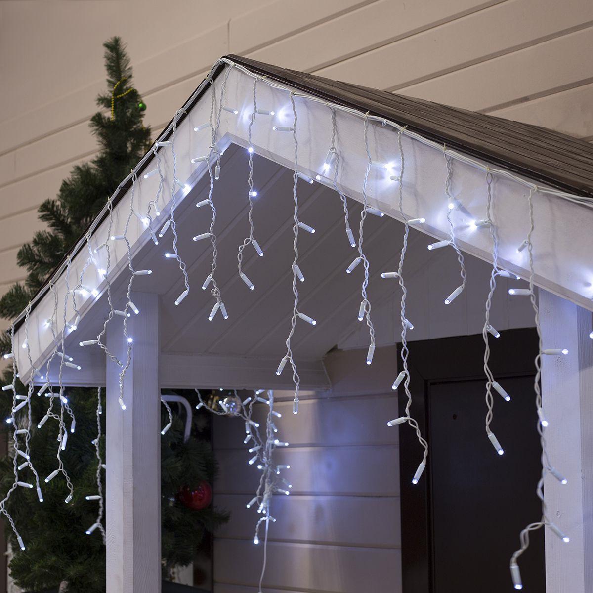 Электрогирлянда Бахрома Luazon Lighting Светодиодная 160 ламп, 3 м  #1