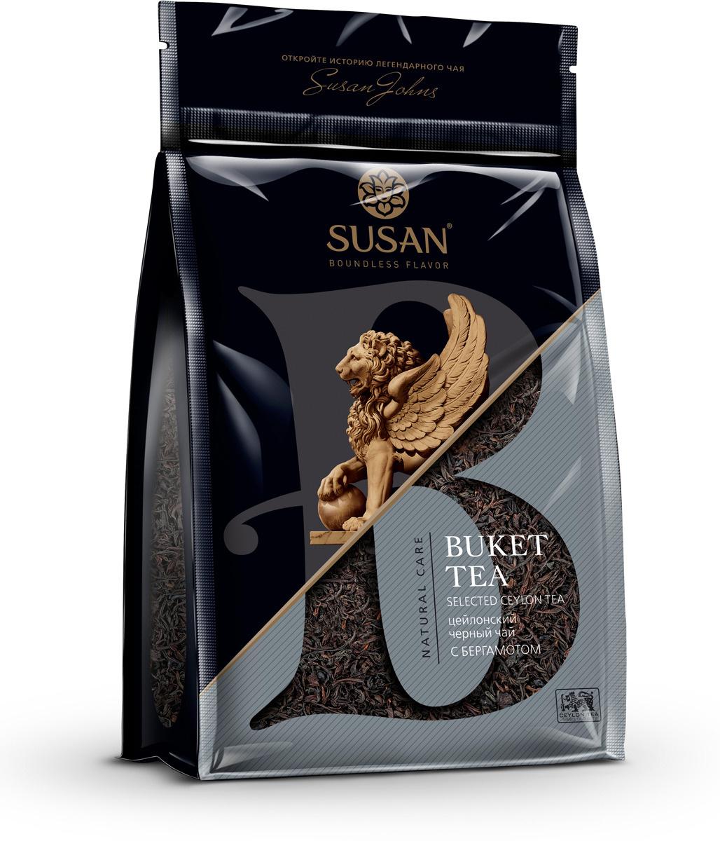 Черный чай с натуральным маслом бергамота