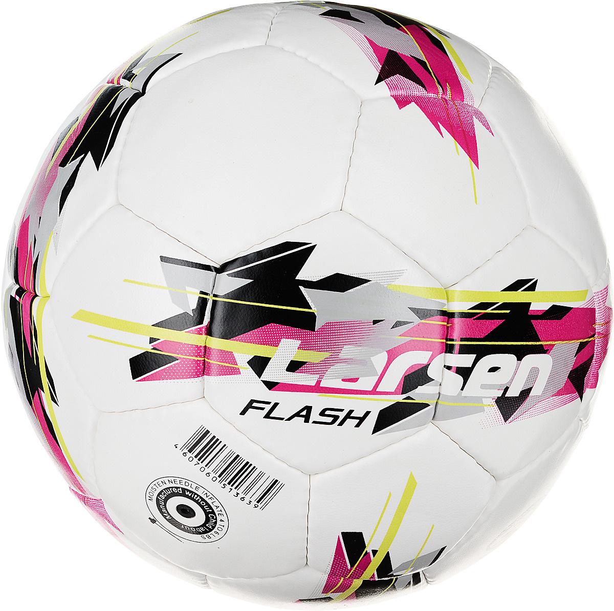 Футбольный мяч Larsen Pep, 5 размер, черный, белый #1