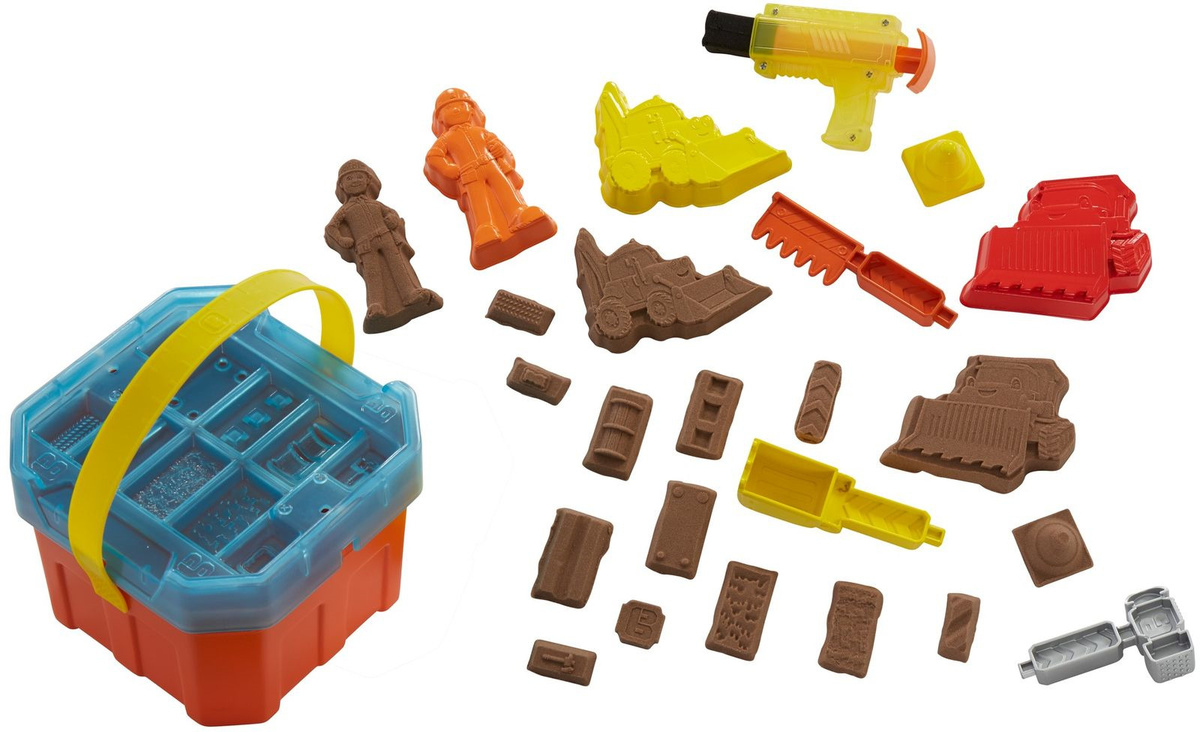 Bob the Builder Игровой набор Смешивай и лепи с контейнером #1