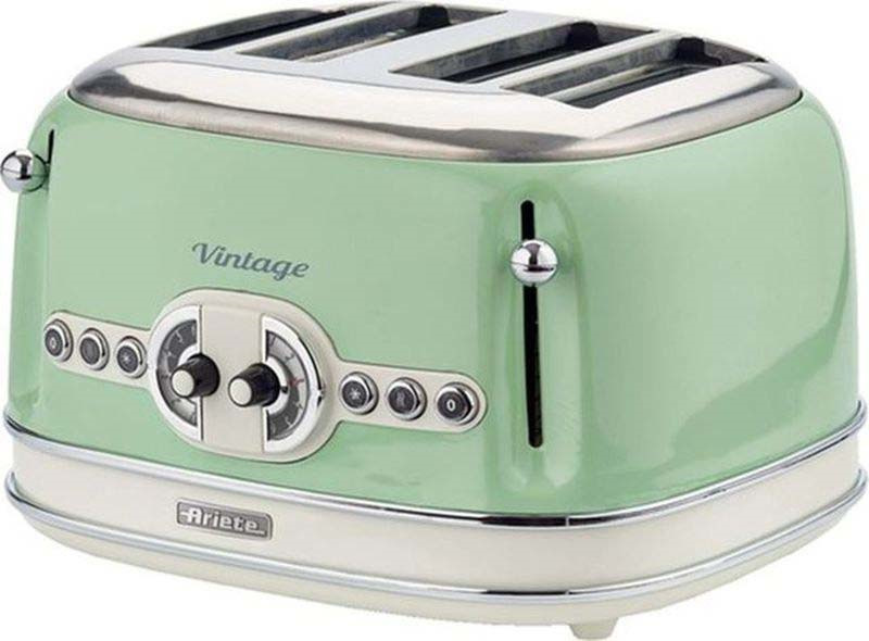 Тостер Ariete Vintage 156/04, зеленый #1