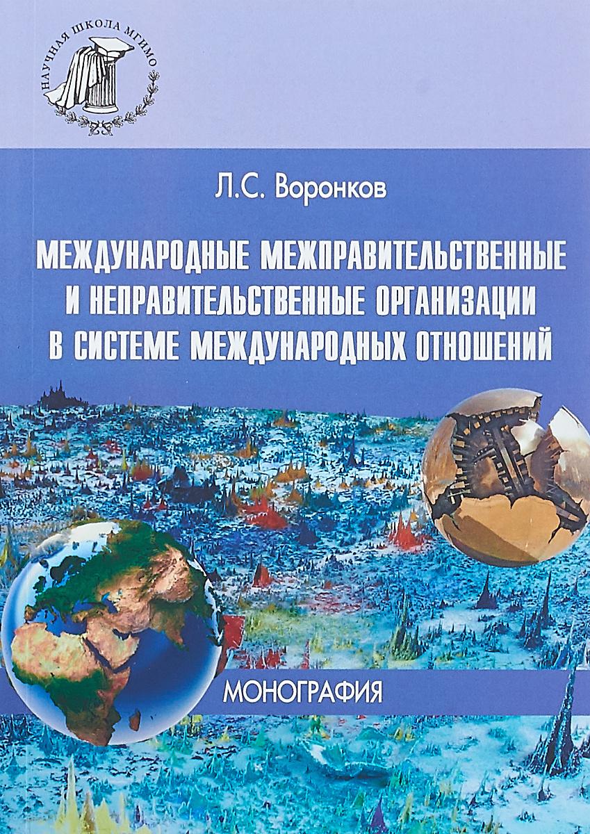 Международные межправительственные и неправительственные организации в системе международных отношений #1