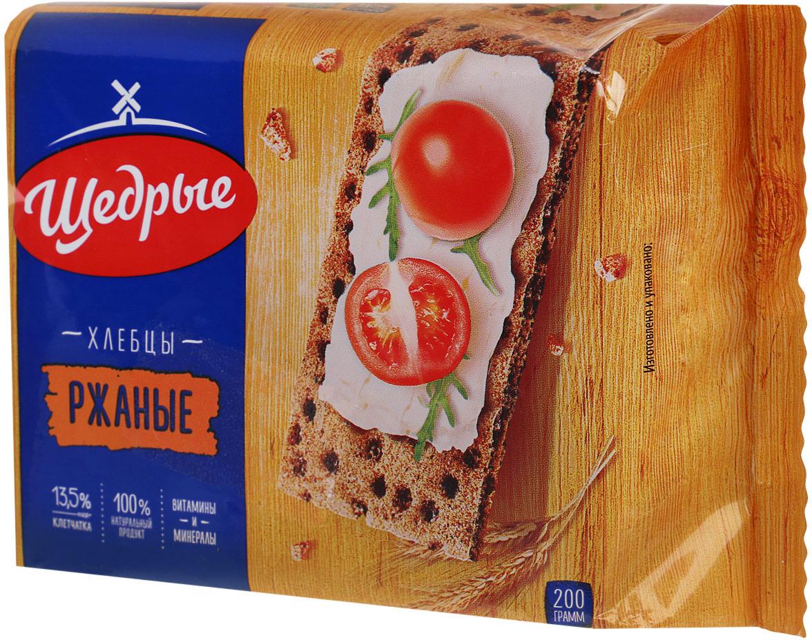 Щедрые хлебцы ржаные, 200 г #1