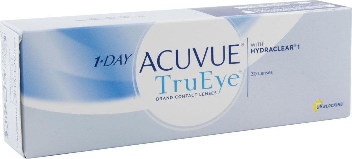 Контактные линзы ACUVUE Johnson & Johnson контактные линзы 1-Day Acuvue Trueye 30 шт / 8.5 Однодневные, #1