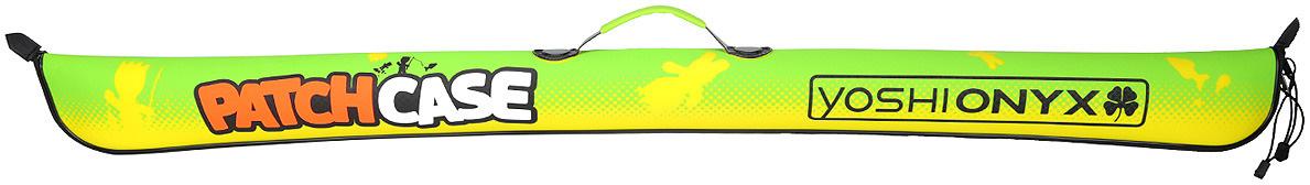 Чехол для удилищ Yoshi Onyx Patch Сase, складной, цвет: зеленый, 135 см  #1