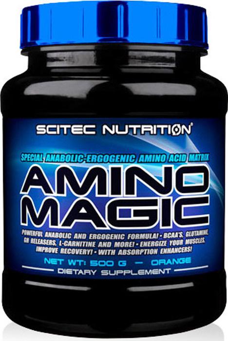 Аминокислотный комплекс Scitec Nutrition Amino Magic, апельсин, 500 г #1