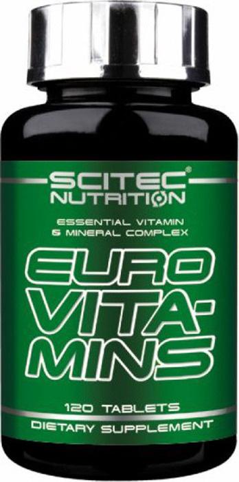 Витаминно-минеральные комплексы Scitec Nutrition Euro Vita-Mins, 120 таблеток  #1