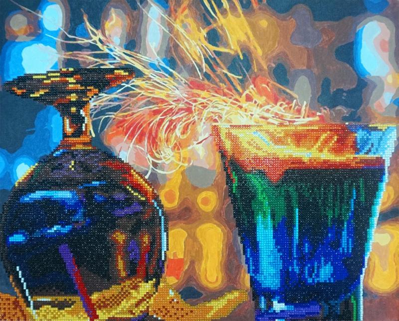 алмазная мозаика Color Kit алмазная картина раскраска 2 в 1 Ra001 купить в интернет магазине Ozon с быстрой доставкой