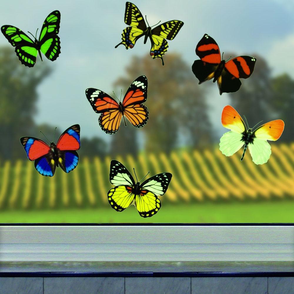 """Настенный декор Хит-декор """"3D наклейки Бабочки"""", 06287, 12 штук  #1"""