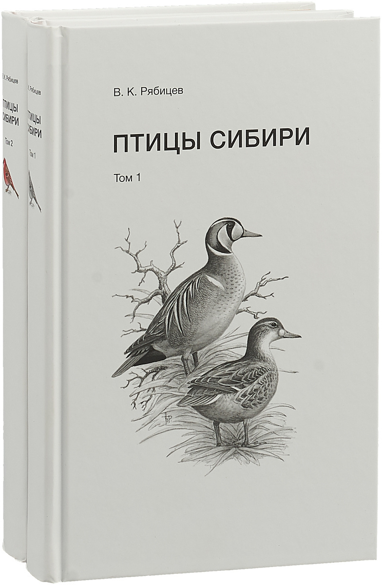 Птицы Сибири. В 2 томах (комплект)   Рябицев Вадим Константинович  #1