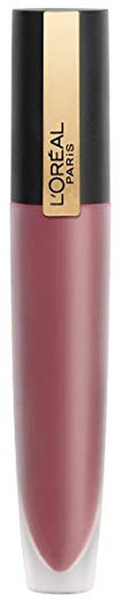 """Губная помада-тинт для губ L`Oreal Paris Rouge Signature, матовый, оттенок 105, """"Я управляю"""", розовый #1"""